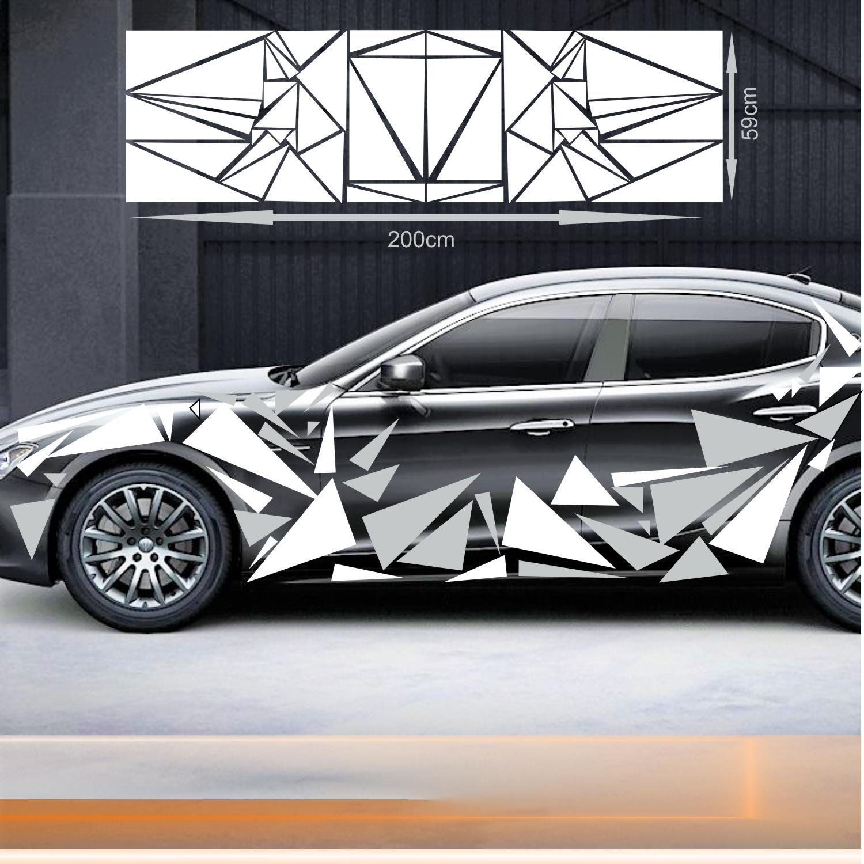 Camouflage Dreiecke Dekor