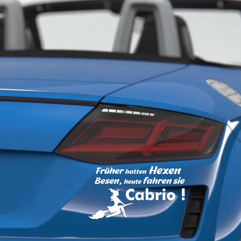 Autoaufkleber Cabrio