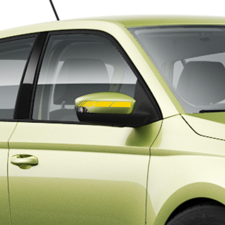 Rallyestreifen Spiegel Seitenstreifen Rennstreifen