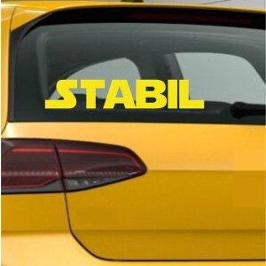 Autoaufkleber Stabil Schriftzug Aufkleber Sticker Gym...
