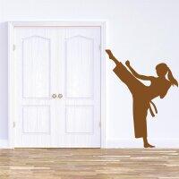 Karate Wandtattoo
