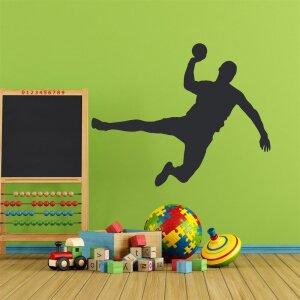 Handball Wandtattoo