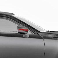 Seitenstreifen Spiegel Aufkleber Rennstreifen Rallye Streifen