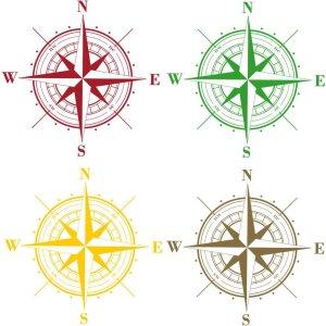 Aufkleber Kompass Wohnmobil