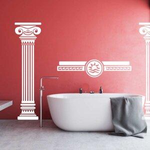 Wandaufkleber Säulen Antik Wandtattoo antike...