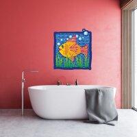 Fancy FISCH Badezimmer Aufkleber