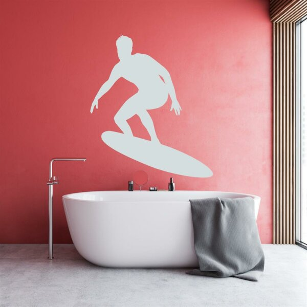 Surfer Wandtattoo