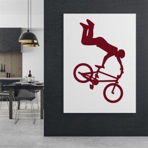 Wandtattoo Rad Freestyle