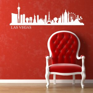 Wandtattoo Skyline Las Vegas