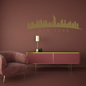Wandtattoo New York Skyline