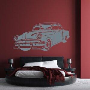 Wandtattoo Wandaufkleber Oldtimer Havanna Style Auto