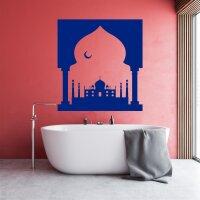 Wandaufkleber Taj Mahal Wandtattoo Indien Weltwunder Monument