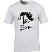 T-Shirt mit Island Pferd
