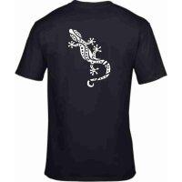 T-Shirt mit Hawaii Gecko