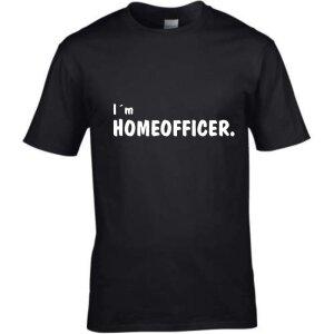 T-Shirt mit Spruch I´m Homeofficer