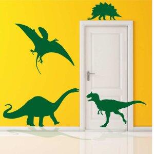 Aufkleber Dinosaurier Wandtattoo Set