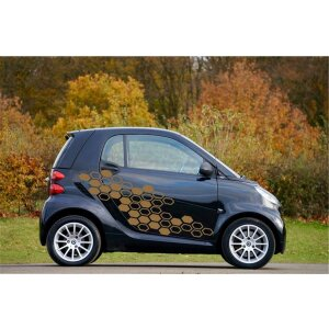 Autoaufkleber WabeWabenmuster Aufkleber Car Styling Tuning