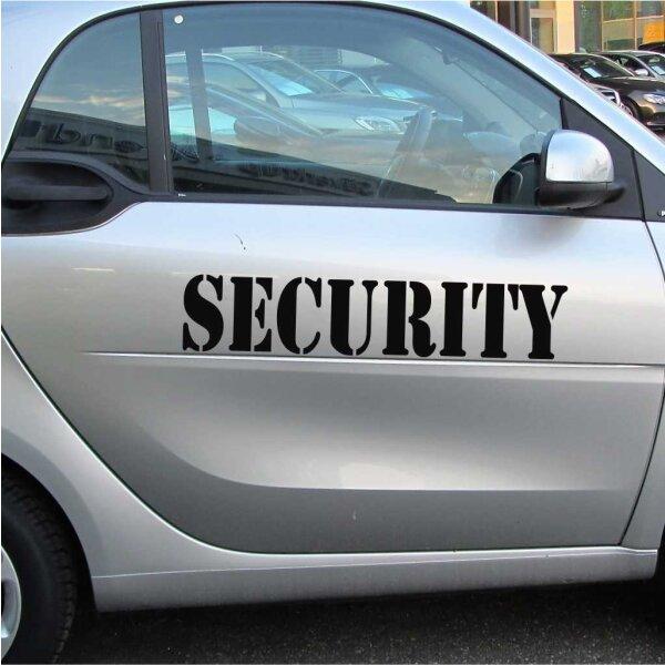 SECURITY Autoaufkleber